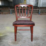mahogany chateau chair images