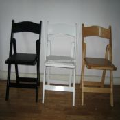 Wood folding chair images