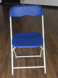 metal-plastic folding chair