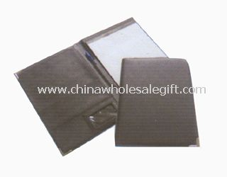 Artifical black leather Conference Folders