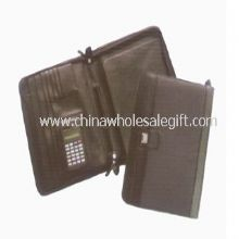 Leather Conference Folders with Calculator images