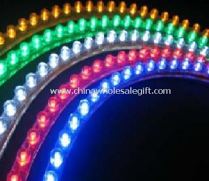 Flexible DIP LED strip with clear PVC housing Light