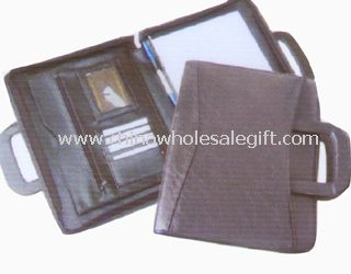 Leather Handle Conference Folders