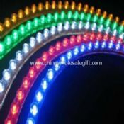 Flexible DIP LED strip with clear PVC housing Light images