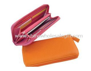 12 card slots Leather Wallets