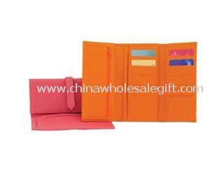 Leather Tri-fold Wallets
