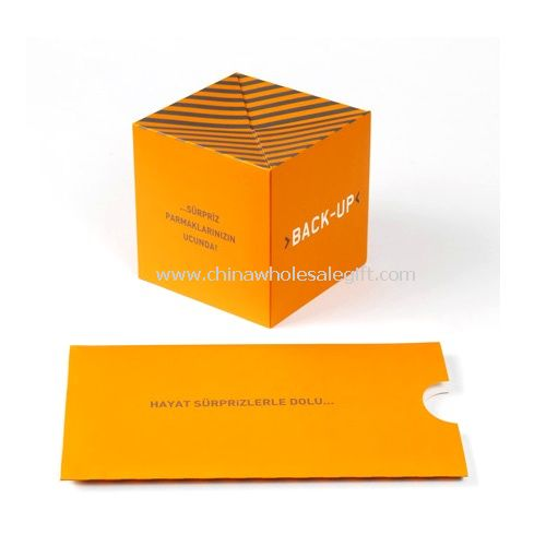 Paper Pop-up Magic Cube