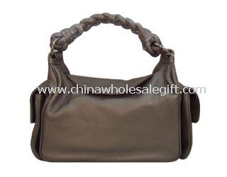 Snap closure Handbag