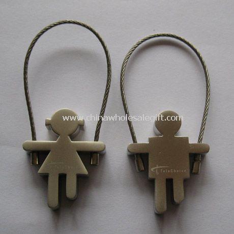 Zinc alloy key tag