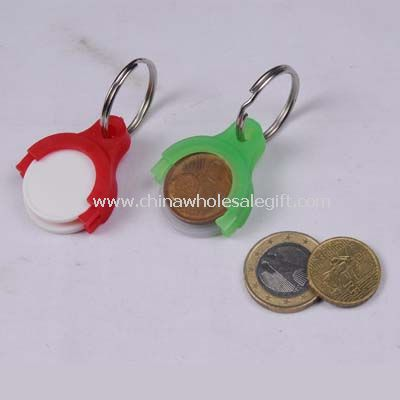 coin hold with keychain