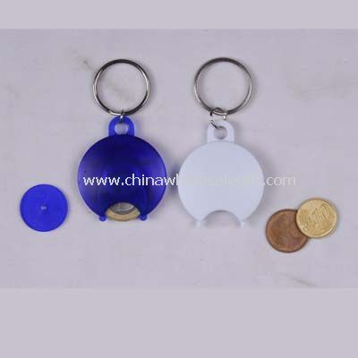 Coin hold with Keyring