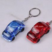Led keychain light in car shape images