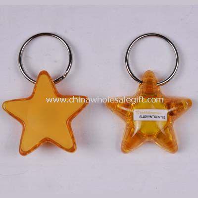 Star Led keychain light