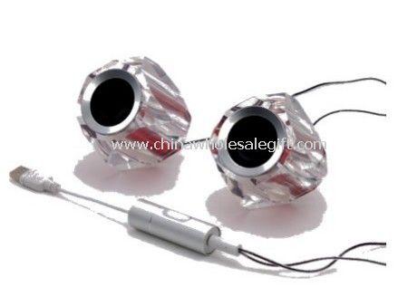 Crystal USB Speaker