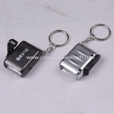 Dynamo torch with key ring