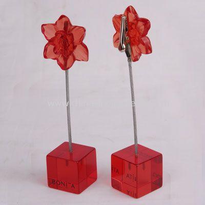 Flower MEMO HOLDER
