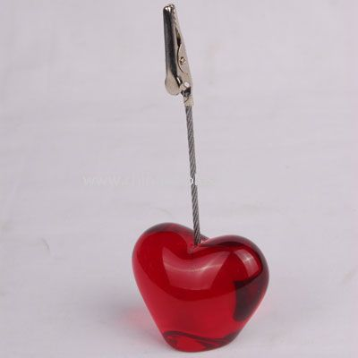 heart shape Memo holder