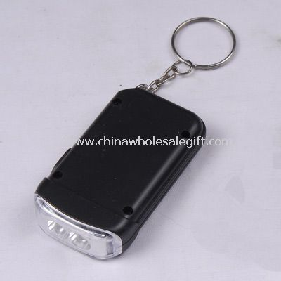 Solar torch with key ring