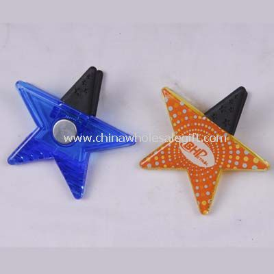 Star Memo clip with magnet