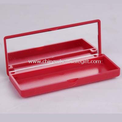 Cosmetic mirror with box