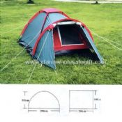 190T POLYESTER COAT Camping Tents images