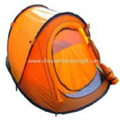 solid fiber glass pole pop up tent images