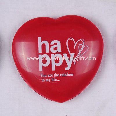 Plastic Heart Cosmetic mirror