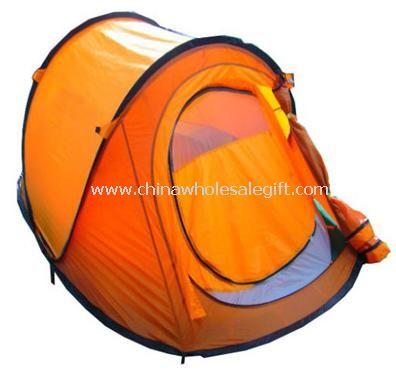 solid fiber glass pole pop up tent