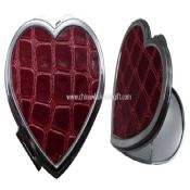 cosmetic mirror in heart shape images