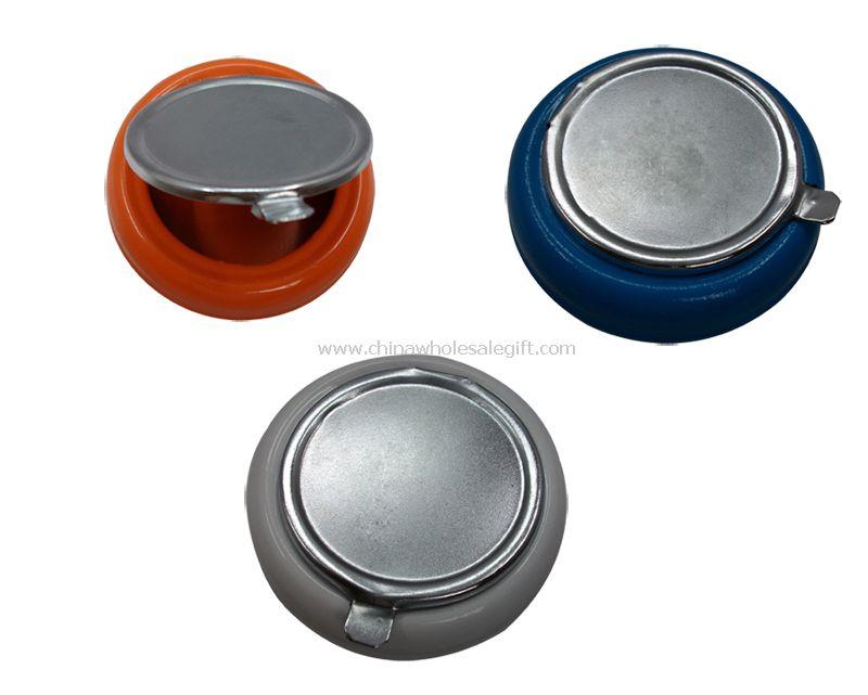 tin pocket ashtray
