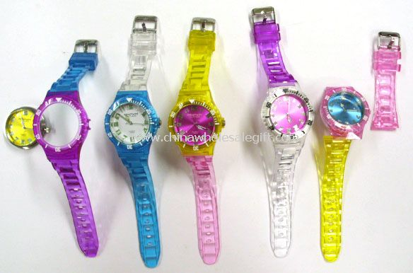changeable watch head case hub and straps Plastic Watch