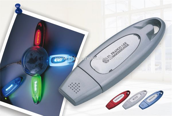 Light-Up Promotional USB Flash Disk