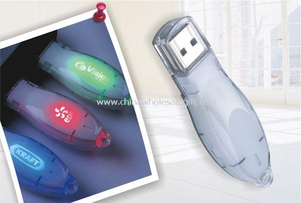 Light-Up USB Flash Drive