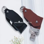 Leather Swivel USB Flash Disk images