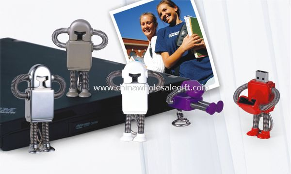 Metal Robot USB Flash Disk