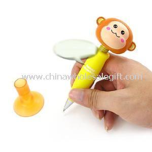 HIP-POP monkey bouncing head ball pen