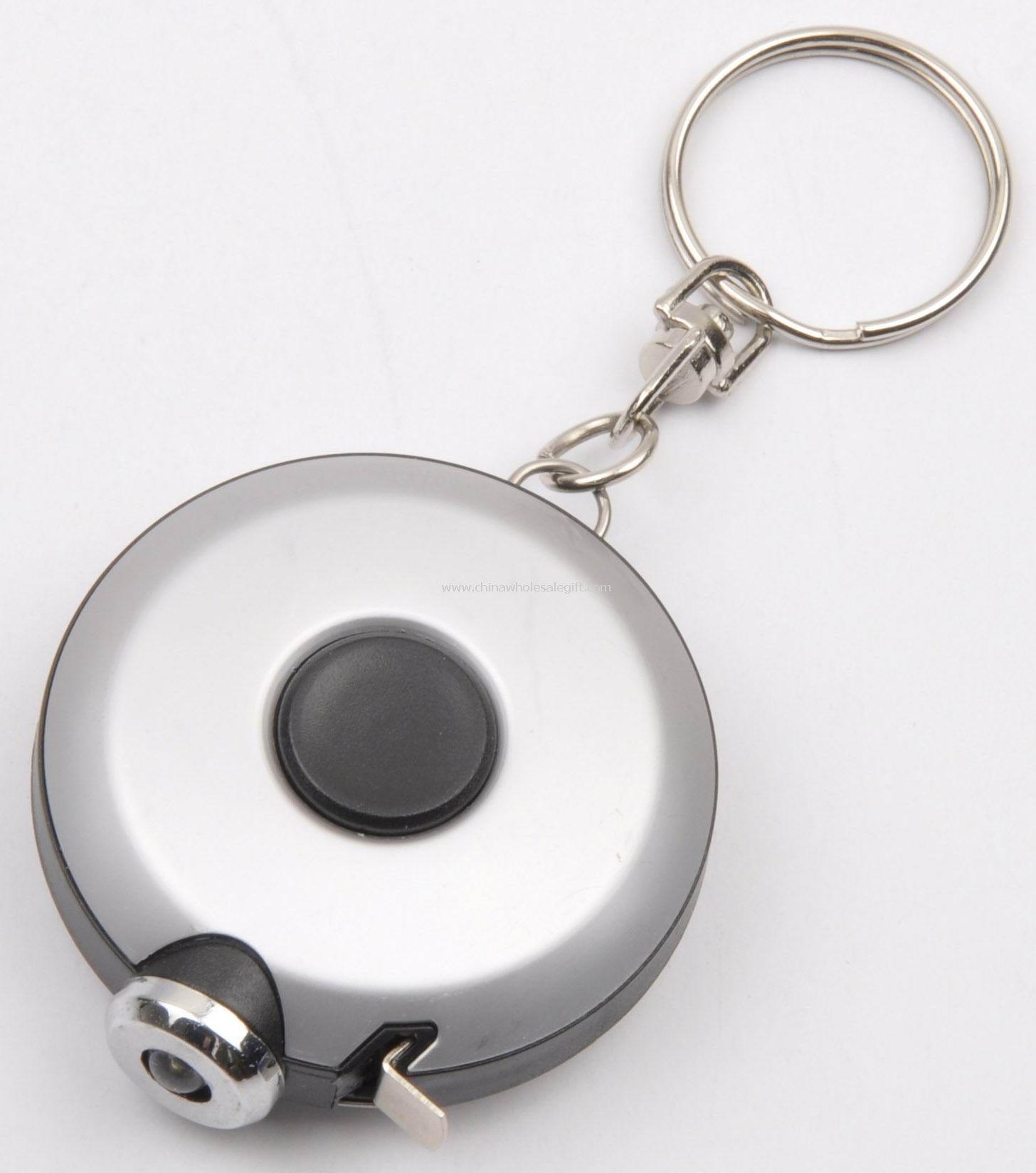 Keychain Mini tool tape measure