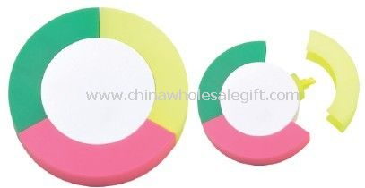 Round highlighter sets