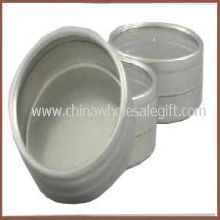 Round Box With glass lid or PVC lid images