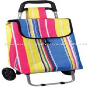 600D polyester Shopping Trolley images