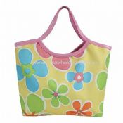 Flower Print Tote Bag images