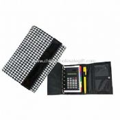 Polyester Jacquard Organiser with Pen, Refill Pages, Caculator images