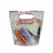 Clear PVC with Crocodile Cosmetic Bag for Packaging images