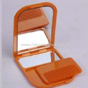 Cosmetic mirror and comb images