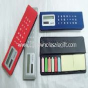 Solar Calculator with notepaper images