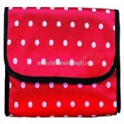 Fashion satin cosmetic bag images