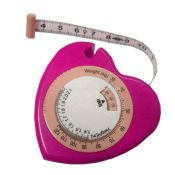 Heart BMI tape measure images