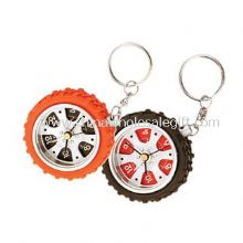 Keychain Tyre Alarm Clock images
