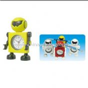 Mini Robot Alarm Clock with Pen holder images