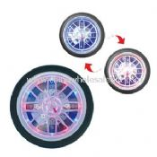 Tyre Wall Clock With Changing Color LED Light images